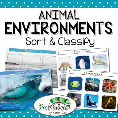 Animal Environments Sort & Classify