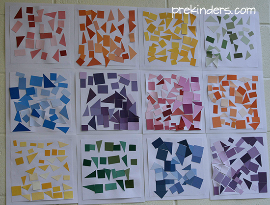 Collage Ideas for Preschoolers
