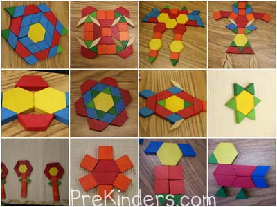 pattern block exploration