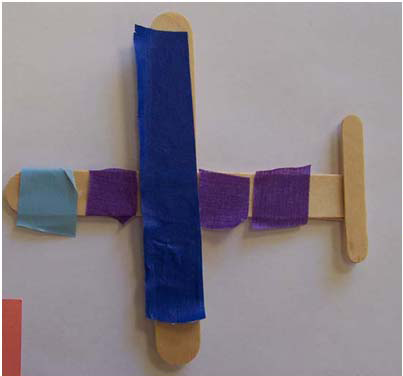 Craft Stick Plane