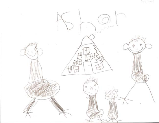 Family Portrait: Preschool Drawing