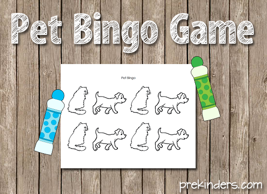 Pet Bingo Game