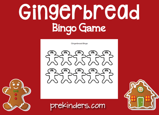 Gingerbread Bingo