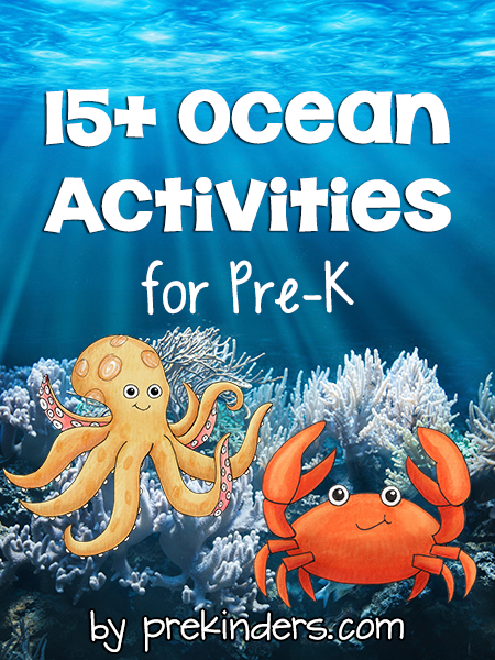Ocean Activities for Pre-K, Preschool