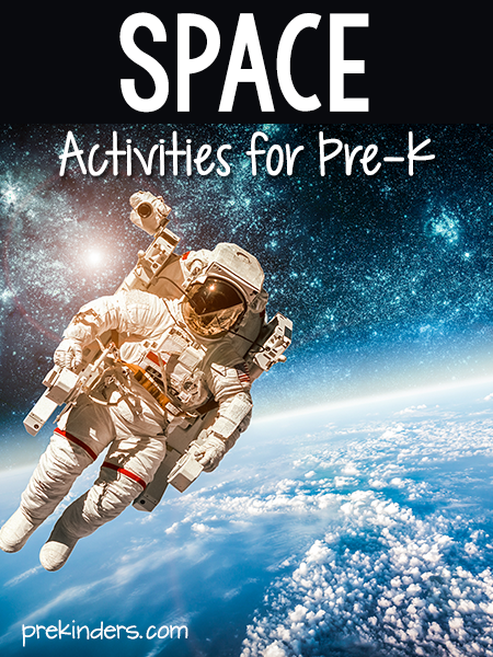 Space Activities Preschool Pre-K