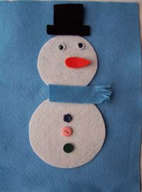 Build a Snowman Math Game