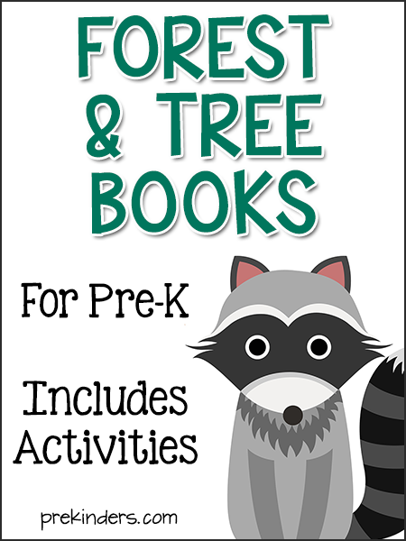 Books About Forest Animals for Pre-K