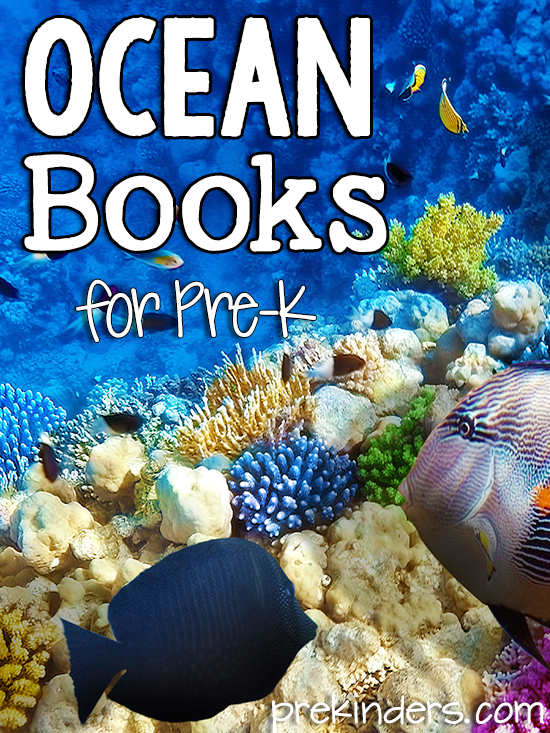Books About Ocean Animals for Pre-K