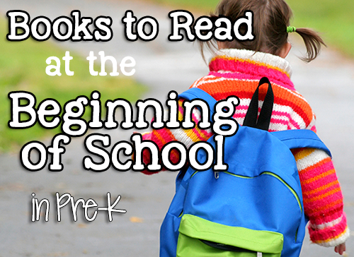 Books for the Beginning of School