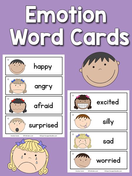 Wild image regarding feelings cards printable