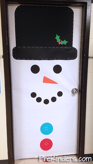 door decorations for january 2