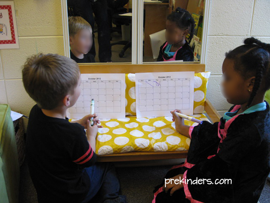 Making the Calendar Meaningful in Pre-K
