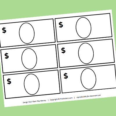 create your own money template pictures to pin on classroom money template classroom money system