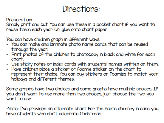 Graph Kit Directions