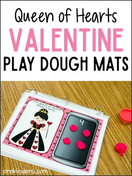 Valentines Play Dough Mats