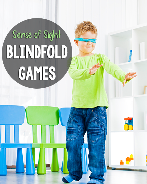 5 Senses: Blindfold Games