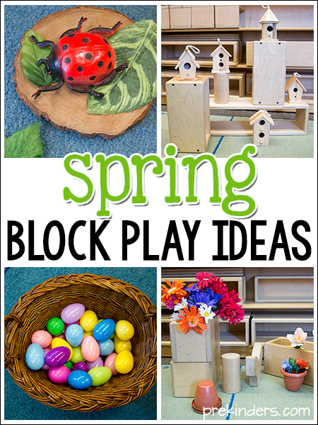 Spring Block Play Ideas