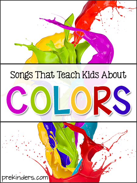 Songs That Teach Kids About Colors