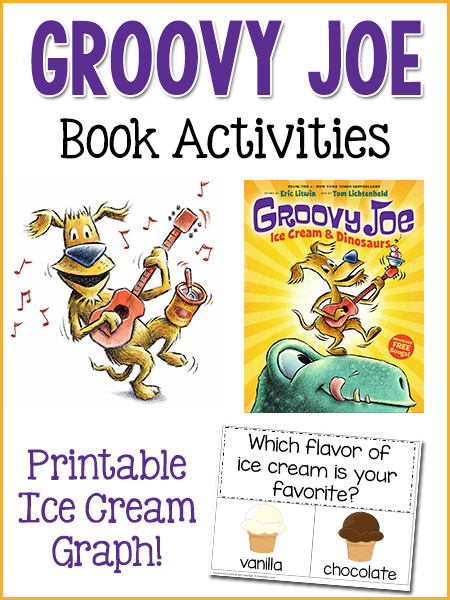 Groovy Joe & Ice Cream Graph Activities