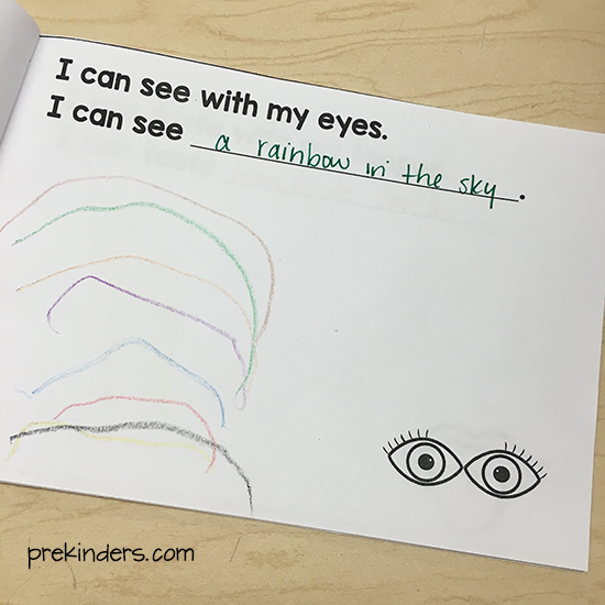 Adorable image with regard to 5 senses book printable