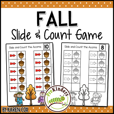 Fall Slide & Count Game