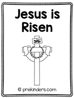 Easter: Jesus is Risen Print & Fold Book