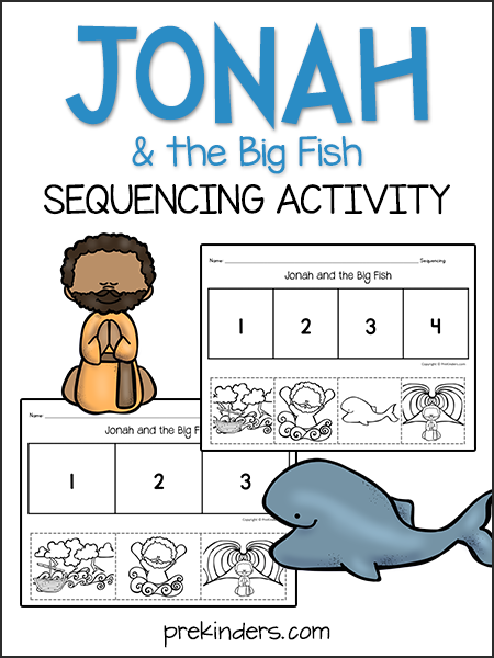 Jonah and the Big Fish: Sequencing Activity