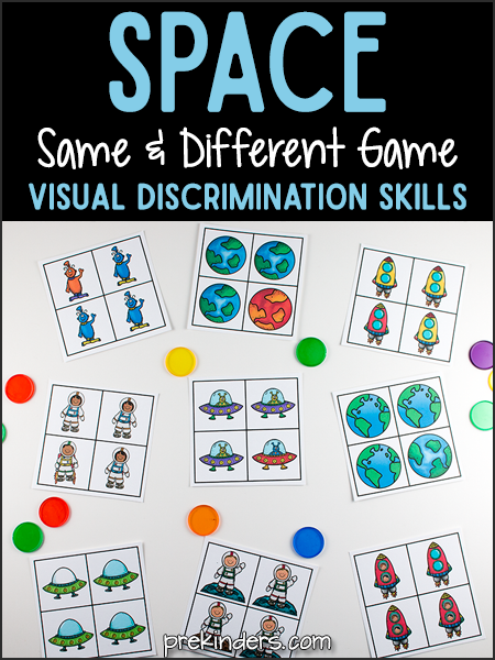 Space Same and Different Game: Visual Discrimination Skills