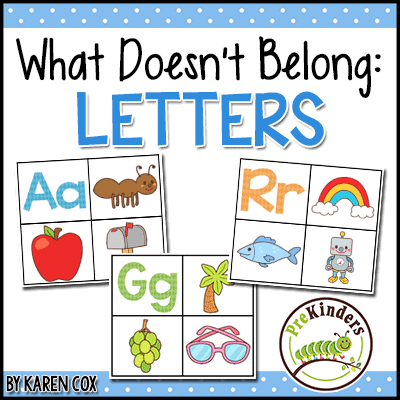 What Doesn't Belong: Letters